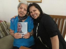 Dona Geórgia e a filha Lucinda