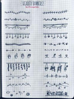 """""""Ah, se eu soubesse desenhar..."""" E você sabe! Com traços simples, é possível criar formas incríveis"""
